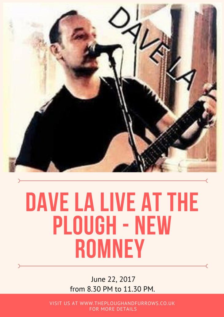 Dave La Live at The Plough