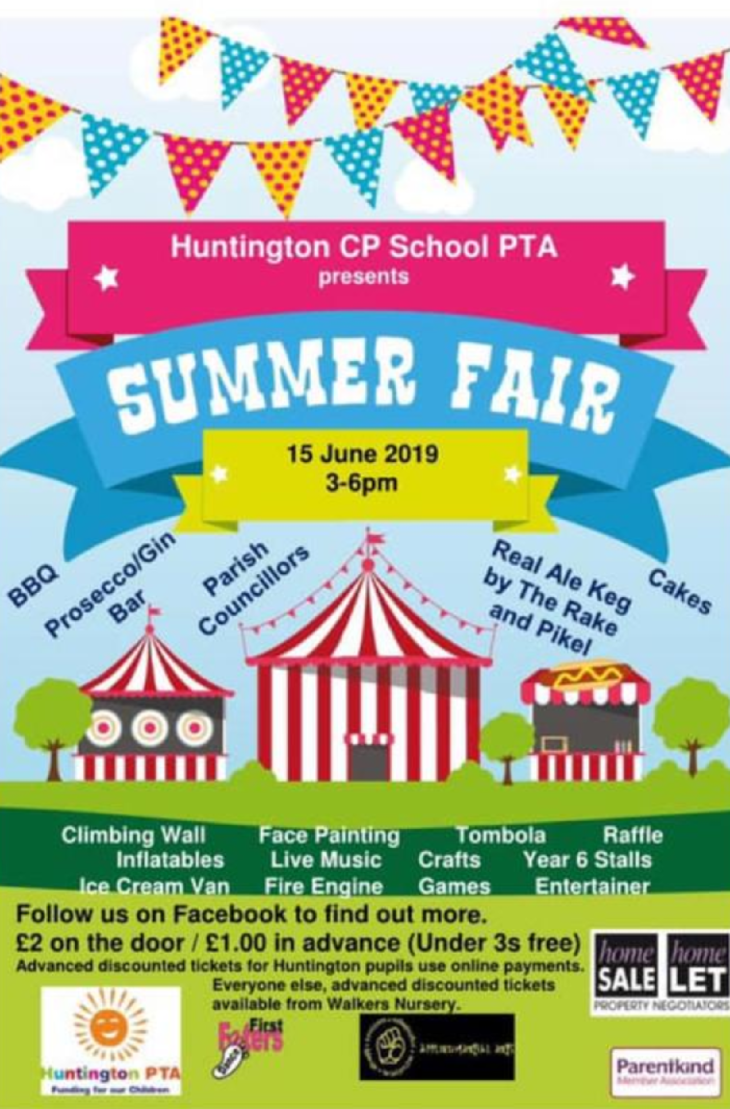 Huntington School Summer Fair