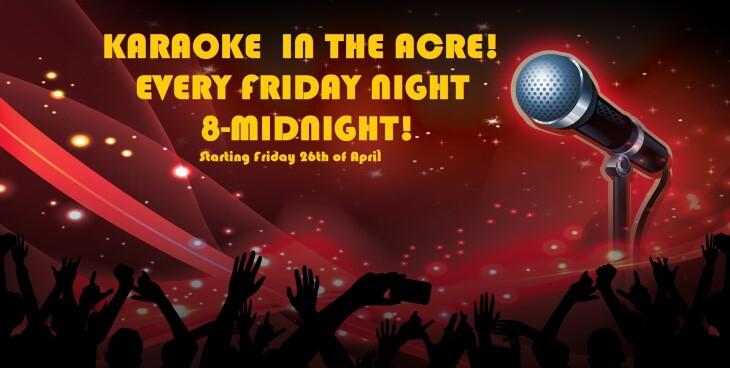 Karaoke Fridays