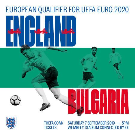 Live Football - England V Bulgaria