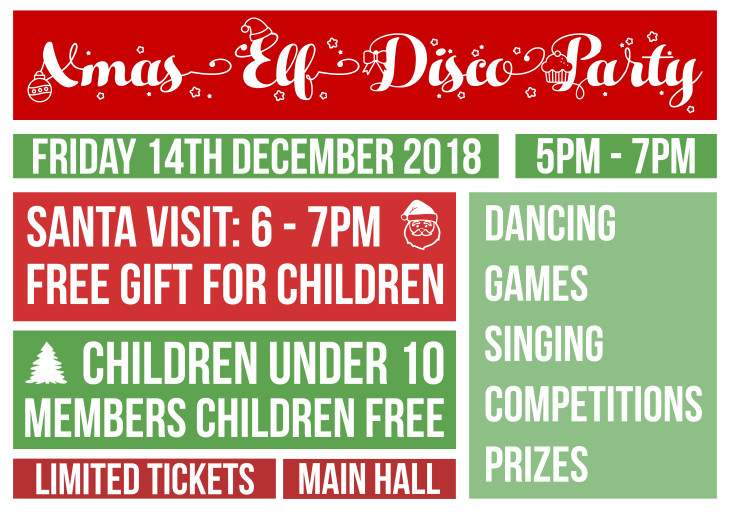 Childrens Christmas Elf Disco