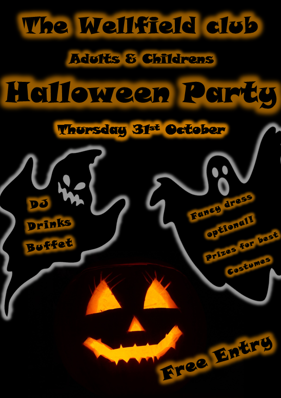 Halloween Party (adults and children)