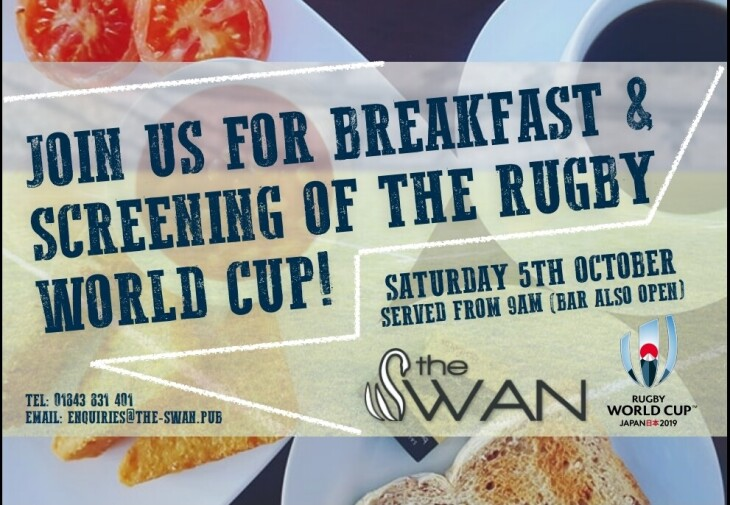 Rugby World Cup Screening