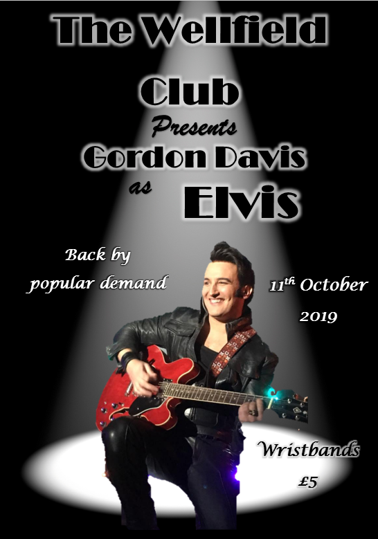 Gordon Davis is ELVIS