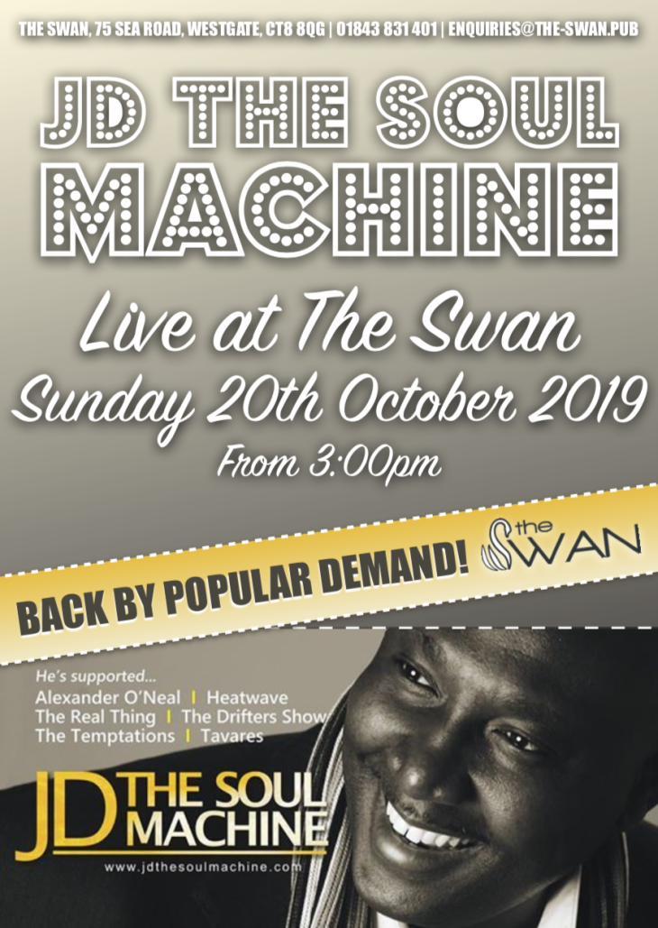 JD the Soul Machine Live @ The Swan
