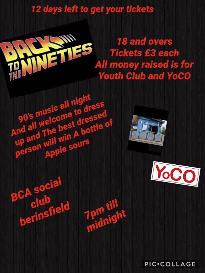 Youth Club & Yoco 90's Disco