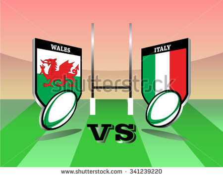 Six Nations Showing at The White Hart.