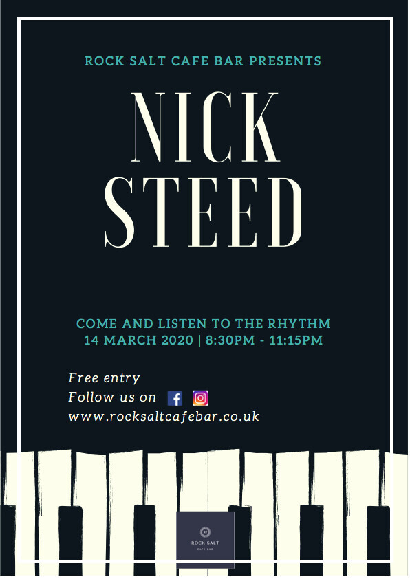 Live with Nick Steed