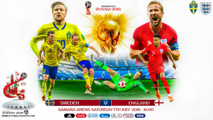 World Cup England Vs Sweden ko 3pm