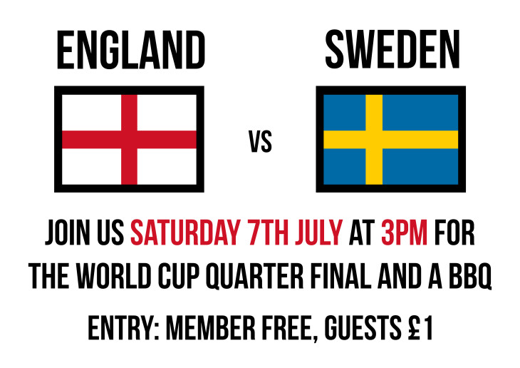 Sweden 15:00 England