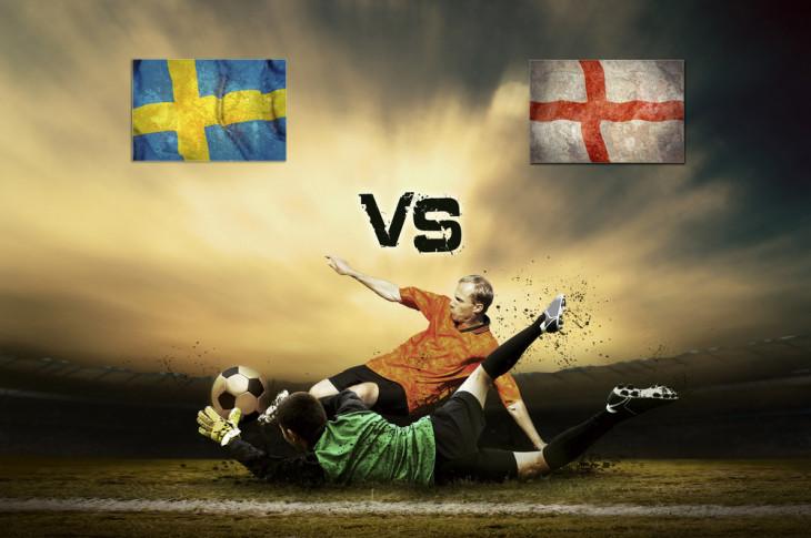 ENGLAND V's SWEDEN