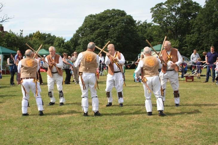 Morris Dancers Home Dance.