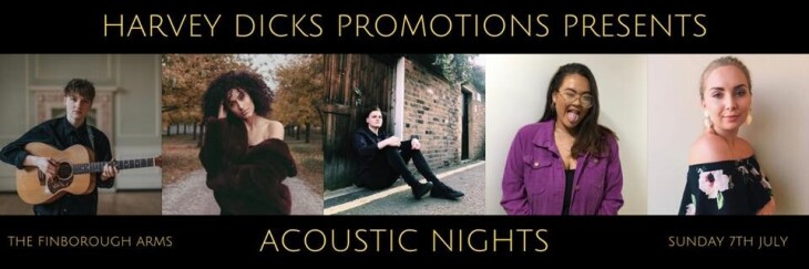 Harvey Dicks Presents: Acoustic Nights