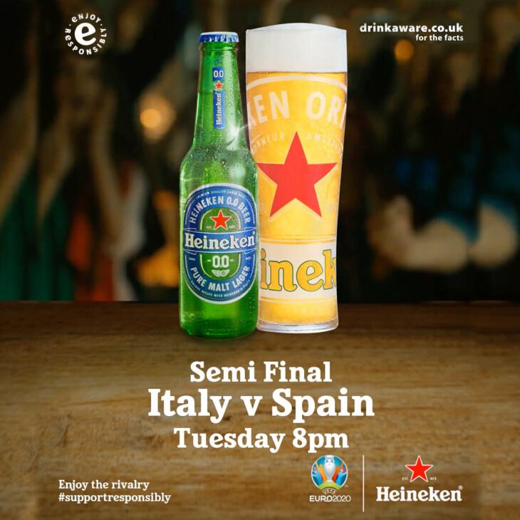 Italy v Spain, UEFA EURO 2020™