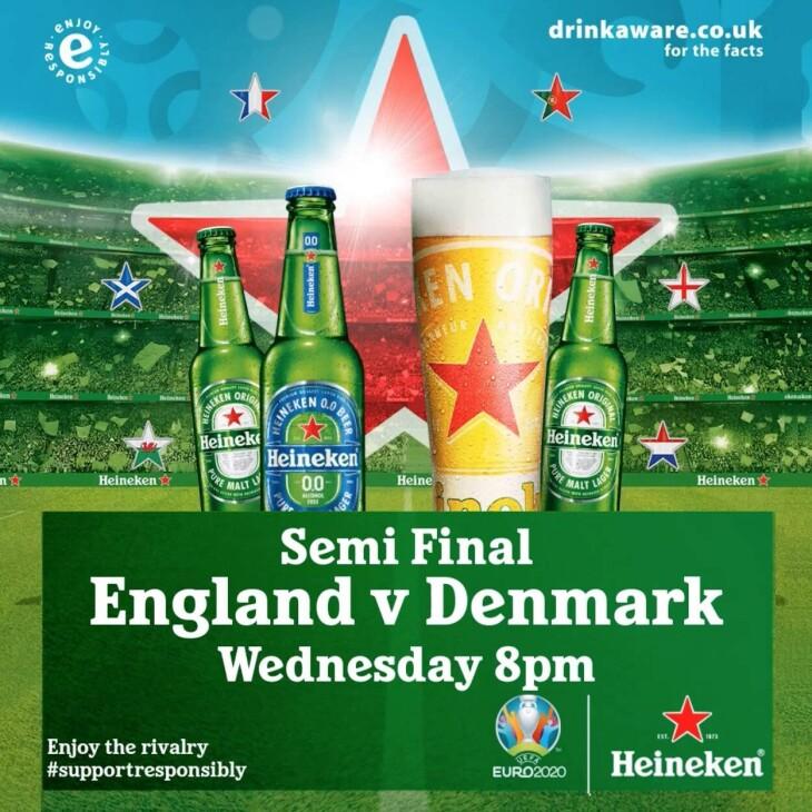 England v Denmark, UEFA EURO 2020™