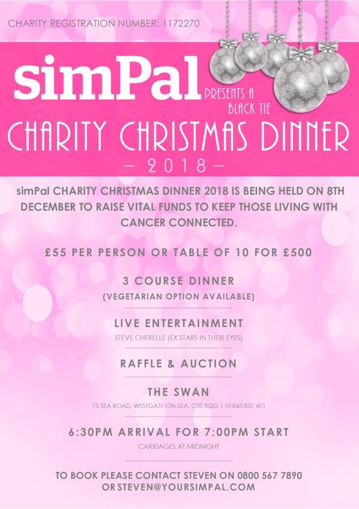 simPal Charity Christmas Dinner