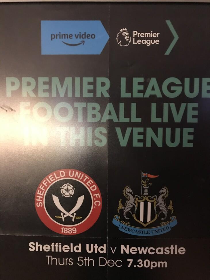 Sheffield United v Newcastle