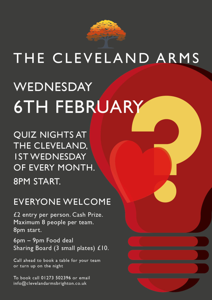Valentines Quiz Night!!
