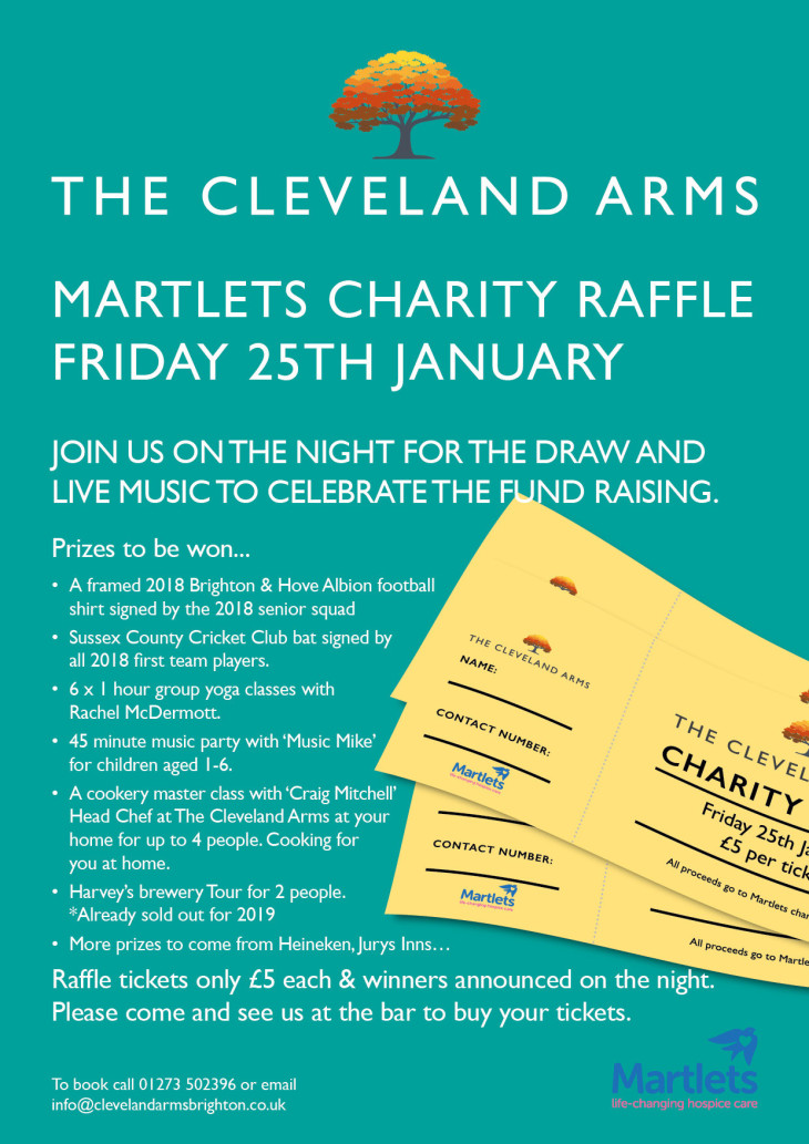 Charity Night, raffle and live music!!