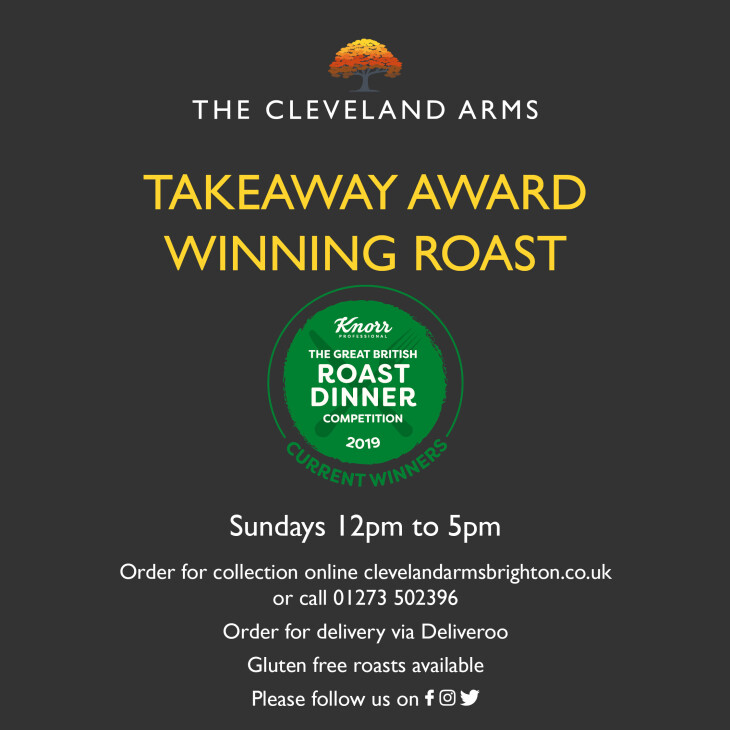 Take Away Sunday Roast
