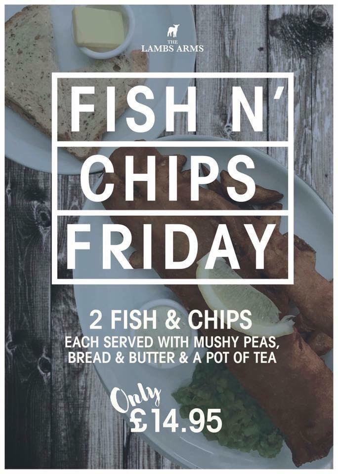 Fish n' Chips Friday