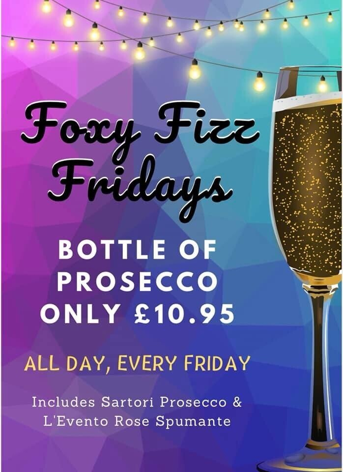 Foxy Fizz Friday
