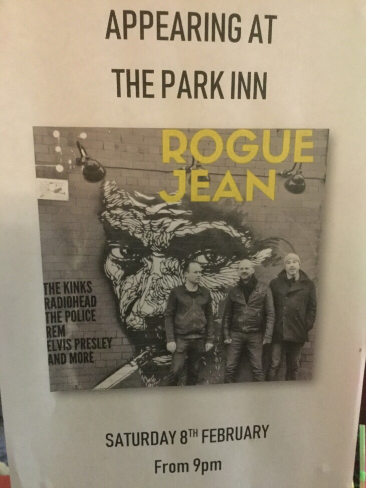 Live Band 'Rogue Jean'