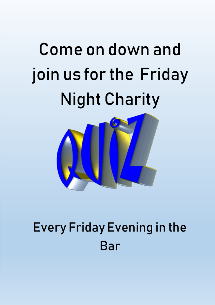 The Friday Night Quiz