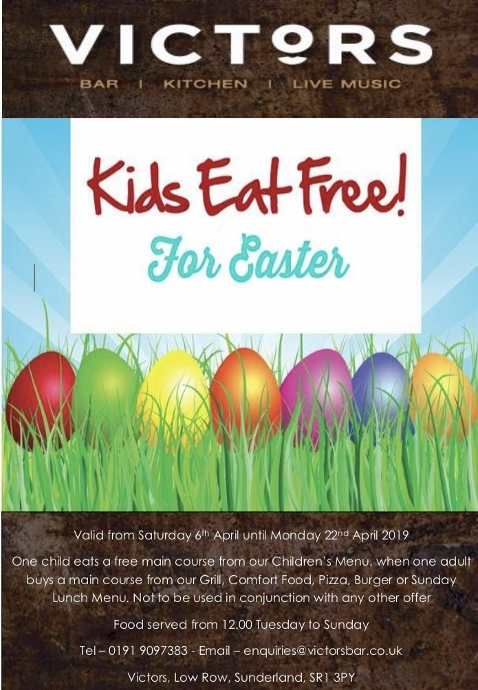 Kids Eat For Free!