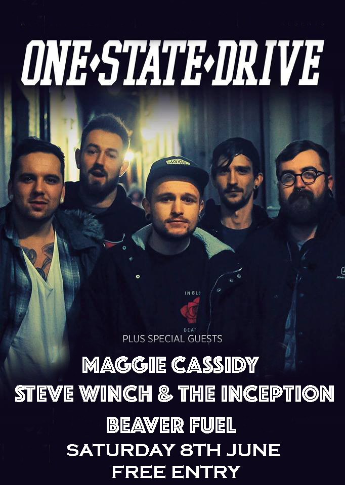 Live Music - One State Drive + Support