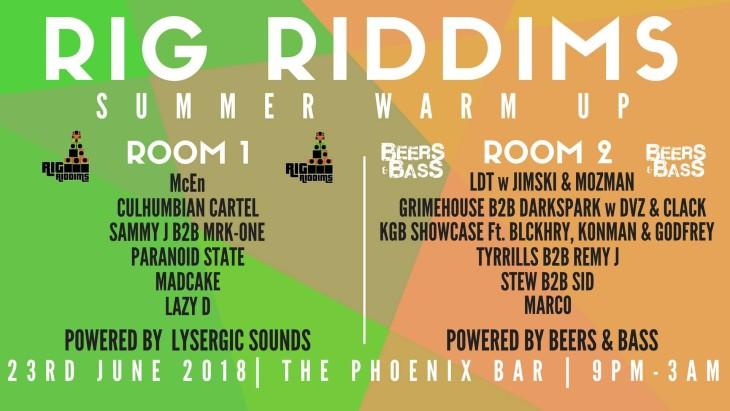 Rig Riddims Presents Summer Warmup