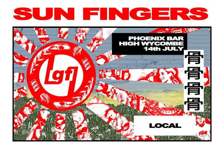 Gun Fingers presents Sun Fingers