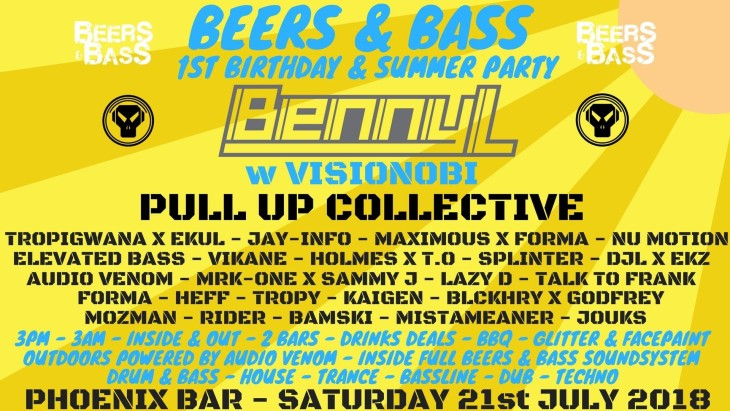 Beers & Bass 1st Birthday & Summer Par