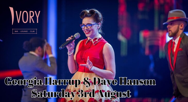 GEORGIA HARRUP & DAVE HANSON AT IVORY.