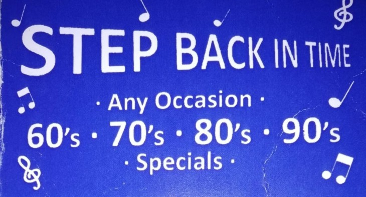 STEP BACK IN TIME - DISCO