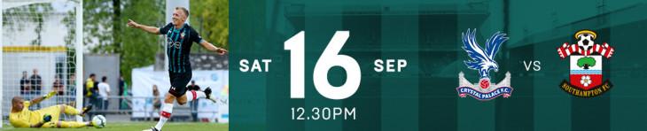 Crystal Palace v Southampton Live!