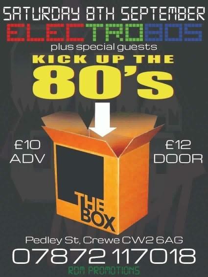 Electro 80's & Kick Up The 80's
