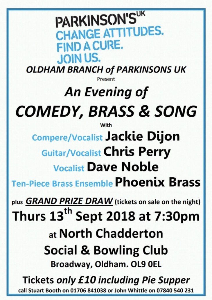 Parkinson's Charity Night