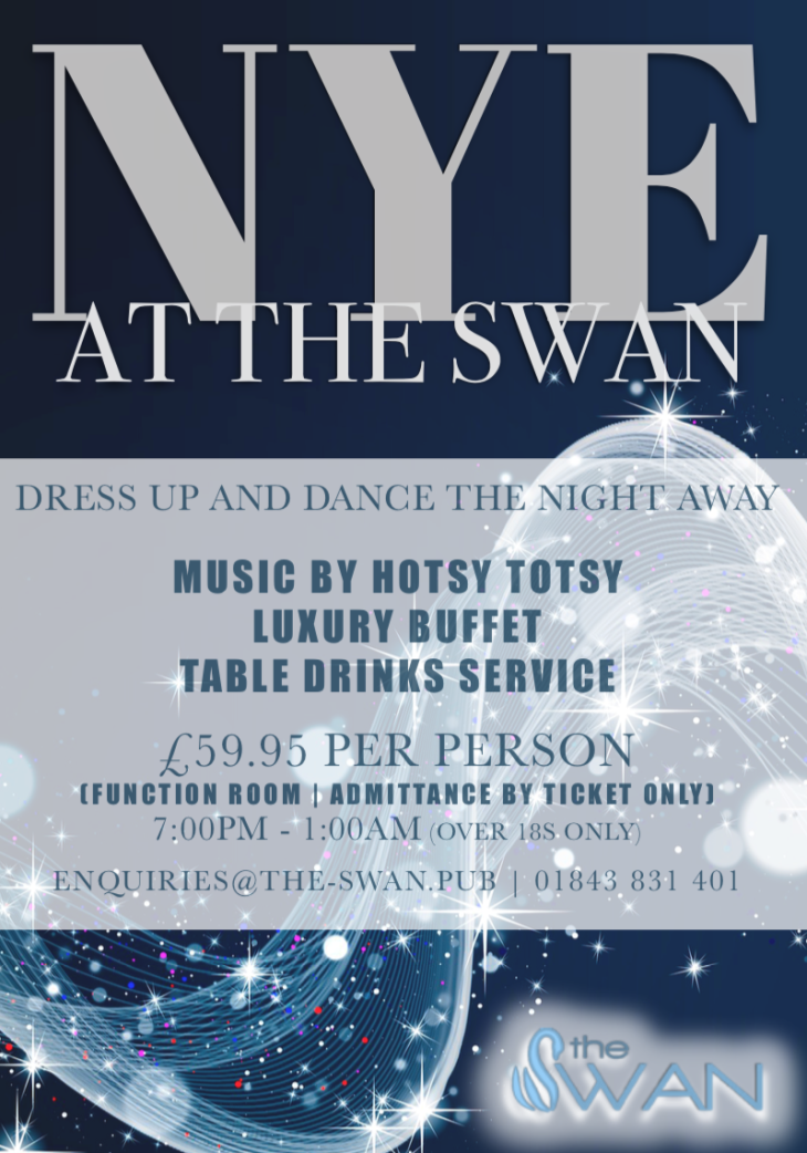 New Year's Eve at The Swan