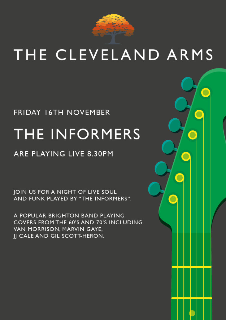 Live music - The Informers