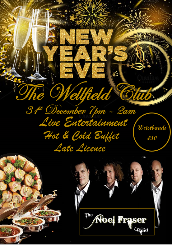 New Years Eve at The Wellfield Club