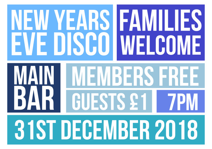 New Years Eve - Family Disco