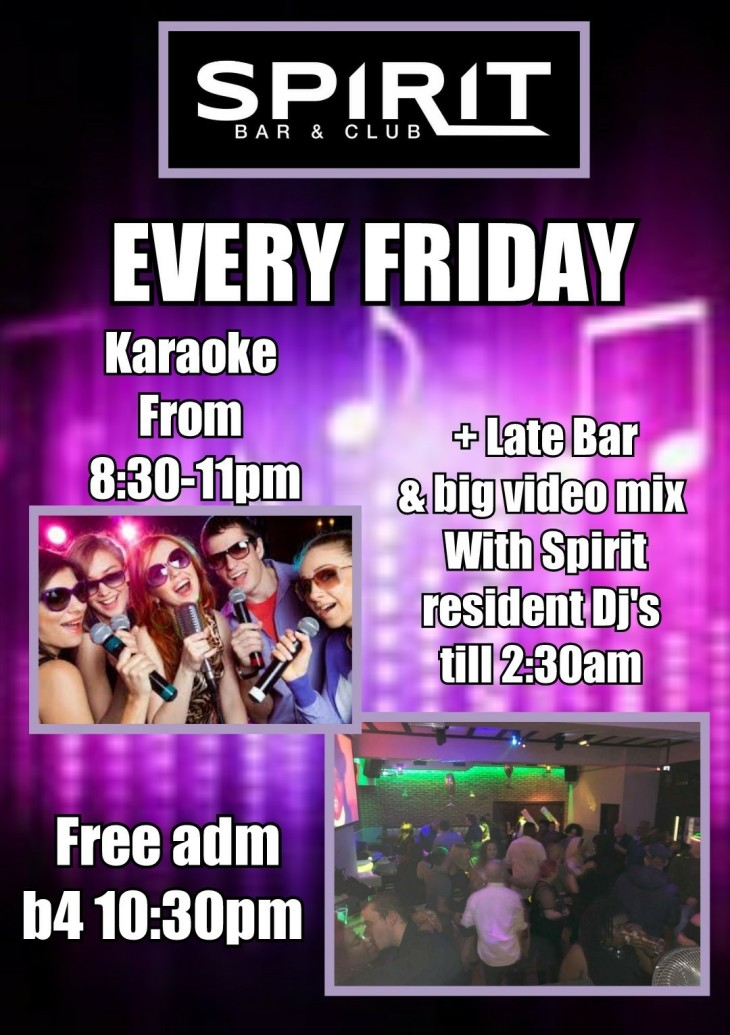 Karaoke + late bar & DJ