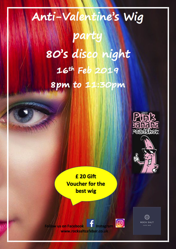 Anti Valentines Wig Party Disco