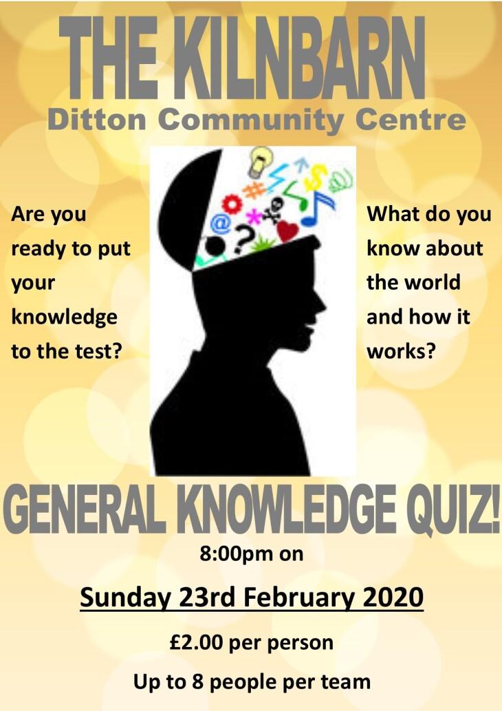 General Knowledge Quiz!