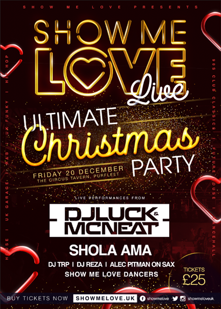 Show Me Love Ultimate Christmas Party