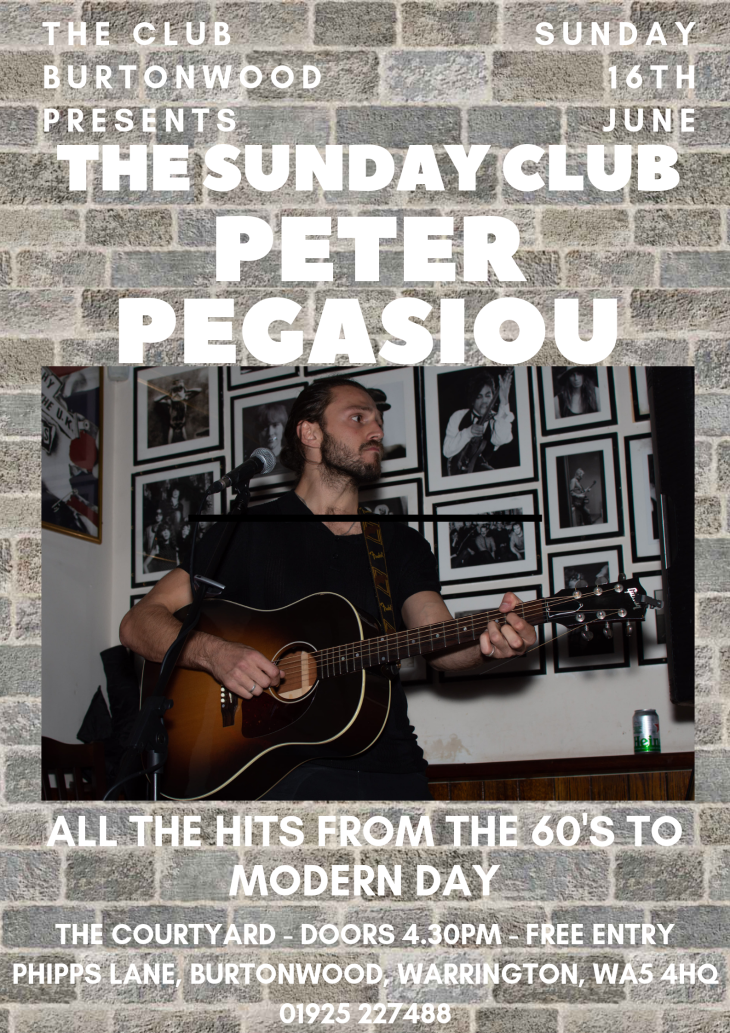 The Sunday Club: Peter Pegasiou