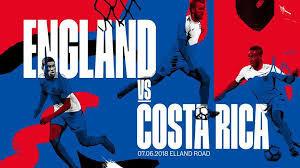 England V Costa Rica (Friendly)