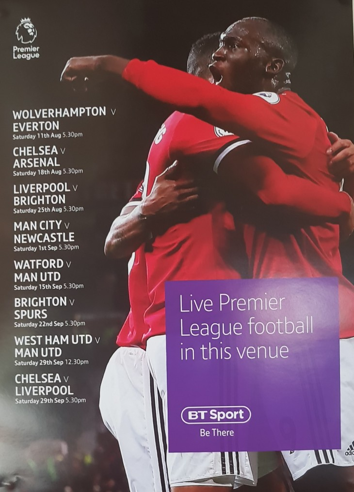 Live Premier League Football.