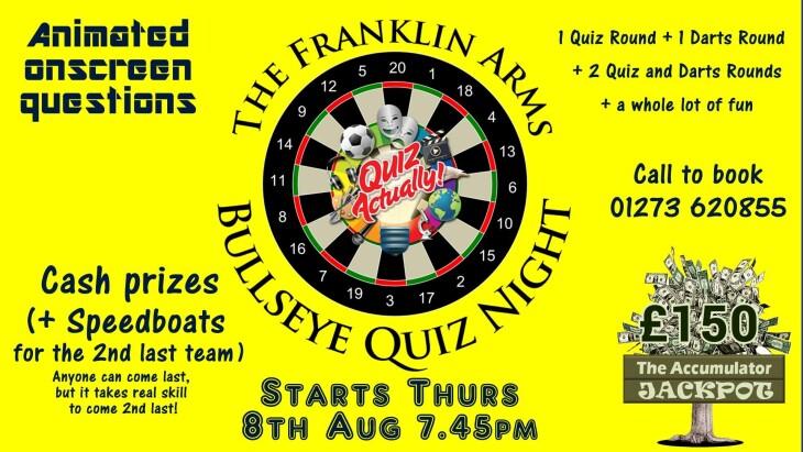 Bullseye Quiz Night